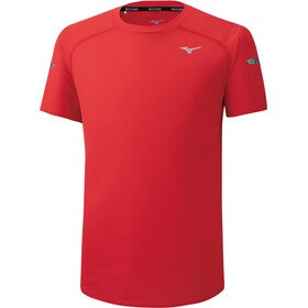 Mizuno DryAeroFlow T-shirt Heren, high risk red
